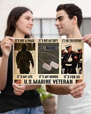 Marine its not a phase pt dvhh dqh 17x11 Poster poster-landscape-17x11-lifestyle-20