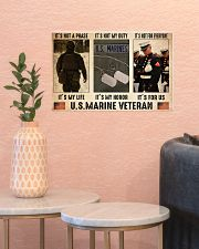 Marine its not a phase pt dvhh dqh 17x11 Poster poster-landscape-17x11-lifestyle-21