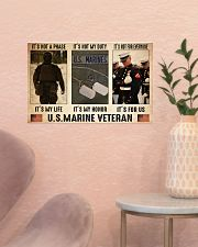 Marine its not a phase pt dvhh dqh 17x11 Poster poster-landscape-17x11-lifestyle-22