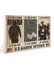 Marine its not a phase pt dvhh dqh 30x20 Gallery Wrapped Canvas Prints thumbnail