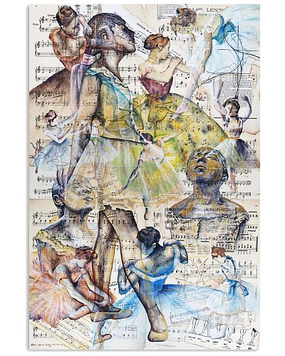 degas ballet dancers poster