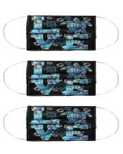 love turtle mas Cloth Face Mask - 3 Pack front