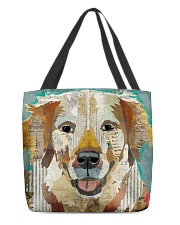 golden retriever collage All-over Tote back