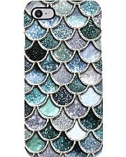 Mermaid Fin blue Phone Case i-phone-8-case