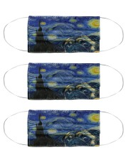 pug starr night mas Cloth Face Mask - 3 Pack front