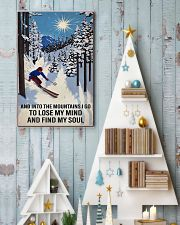 skiing find my soul sun 11x17 Poster lifestyle-holiday-poster-2