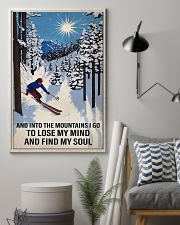 skiing find my soul sun 11x17 Poster lifestyle-poster-1