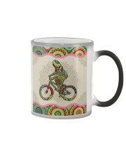 BMX mandala phonecase Color Changing Mug tile