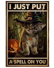 Cat Put A Spell 11x17 Poster front