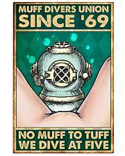 scuba muff divers union pt lqt nna 16x24 Poster front