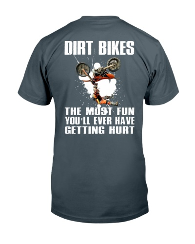 dirt bike getting hurt
