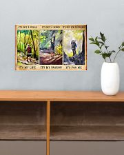 hiking not a phase pt phq nna 17x11 Poster poster-landscape-17x11-lifestyle-24