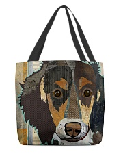 dachshund collage tote All-over Tote back