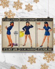 female police officer it's my life poster ttb ngt 17x11 Poster aos-poster-landscape-17x11-lifestyle-30
