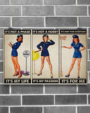 female police officer it's my life poster ttb ngt 17x11 Poster poster-landscape-17x11-lifestyle-18