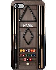 billiard rack custom pc phq dqh Phone Case i-phone-8-case