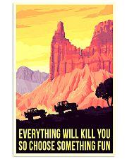jee hiking choose something fun 11x17 Poster front