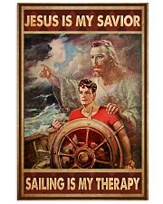 jesus savior sailing therapy pt phq NTV 11x17 Poster front