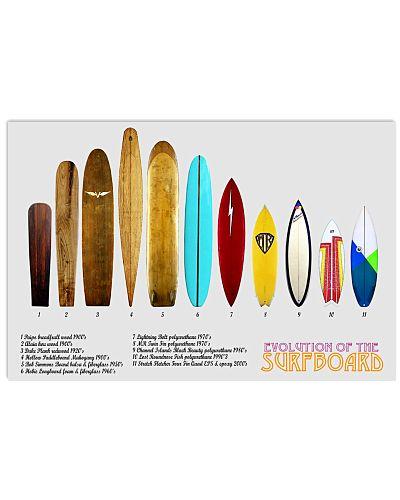 surfboard poster evolution