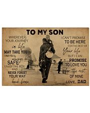 pilot dad to my son pt phq NTH 17x11 Poster front