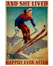 Skiing happy Poster 11x17 Poster front