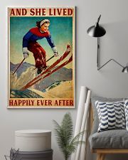 Skiing happy Poster 11x17 Poster lifestyle-poster-1