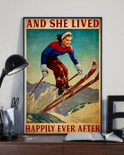 Skiing happy Poster 11x17 Poster lifestyle-poster-2