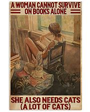 She Also Needs Cats books 11x17 Poster front