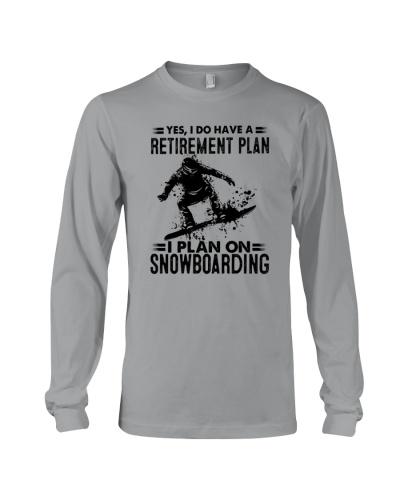 plan on snowboarding