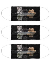 cat dream believe mas Cloth Face Mask - 3 Pack front