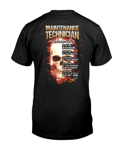maintenance technician hourly rate