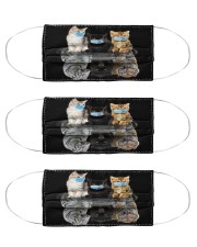 cats mas reflection tigers mas Cloth Face Mask - 3 Pack front