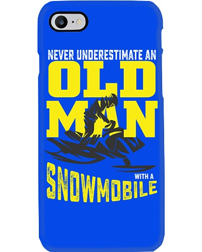 snowmobile old man