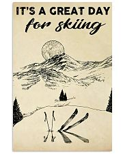 skiing it is a great day 11x17 Poster front