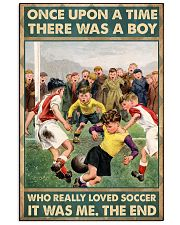 soccer boy once upon a time poster 11x17 Poster front