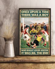soccer boy once upon a time poster 11x17 Poster lifestyle-poster-3