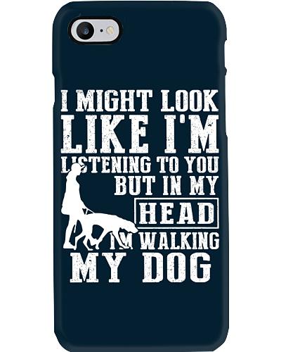 walking my dog women