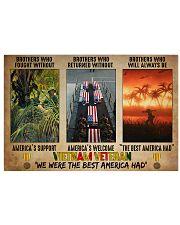 Vietnam vet the best America had pt dvhh pml 17x11 Poster front