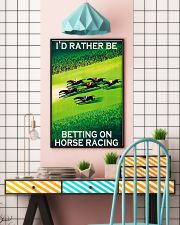 horse racing betting on 16x24 Poster lifestyle-poster-6