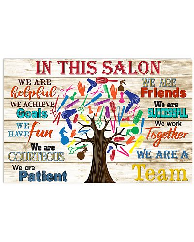 In this salon tree hairstylist