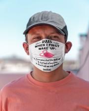 Flamingo rules mas Cloth Face Mask - 3 Pack aos-face-mask-lifestyle-06