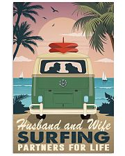 surfing partners for life 11x17 Poster front