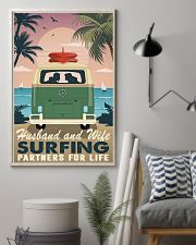 surfing partners for life 11x17 Poster lifestyle-poster-1