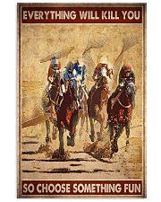 horse racing choose fun pt lqt ngt 16x24 Poster front