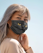 black cat mas Cloth Face Mask - 3 Pack aos-face-mask-lifestyle-19