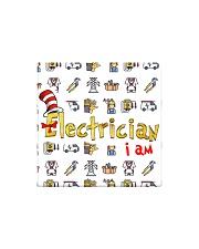 electrician i am mas Square Magnet thumbnail