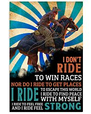 horse riding i dont ride ttb nna 16x24 Poster front