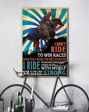 horse riding i dont ride ttb nna 16x24 Poster lifestyle-poster-7