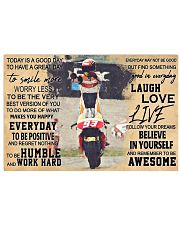 Mrc-Marquz-MotoGP-today-is-a-good-day-pt-mttn-nna 24x16 Poster front