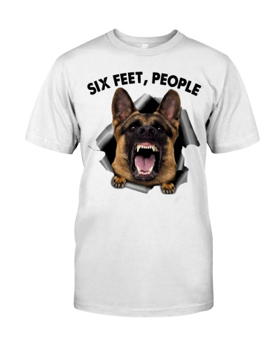 German Shepherd 6ft shirt